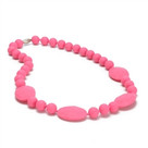 Perry Necklace- Punchy Pink