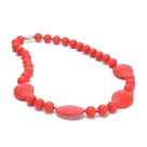 Perry Necklace-Cherry Red