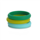 Skinny Charles Bangle-Emerald Green