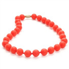 Juniorbeads Jane Jr. Necklace-Cherry Red