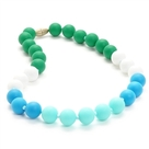 Juniorbeads Bleecker Jr. Necklace-Turquoise