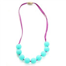 Juniorbeads Madison Jr. Necklace (Glow in the Dark)- Spearmint