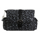 Kalencom Black Bubbles Buckle Diaper Bag
