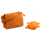 Kalencom Messenger Bag Diaper Bag, Pumpkin