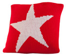 "Butterscotch Star Knitted Pillow Non-Personalized (15"" x 15"")"