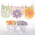 """Bunch O'Bloomers"" Three Bloomers for Blooming Bums Baby Gift Set (0-6 months)"