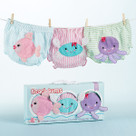"""Beach Bums"" Set of 3 Bloomers Baby Gift Set (0-6 months)"