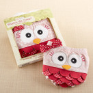 """Whoo's the Cutest?"" Owl Bloomer Baby Gift Set"