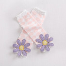 """Bloomin"" Flower Leg Warmers Baby Gift Set"