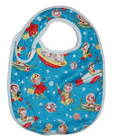 Retro Rockets Baby Tuck and Tidy Bib