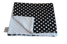 Black Dot Baby Elephant Ears Blanket
