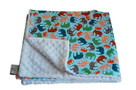 Blue Elephant Baby Elephant Ears Blanket