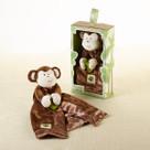 """""""Minki the Monkey"""" Plush Lovie Baby Gift Set"""