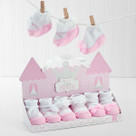 """Little Princess"" 3 Pairs of Socks Baby Gift Set"