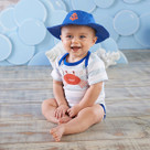 """Fun in the Sun"" Bodysuit & Hat Baby Gift Set"