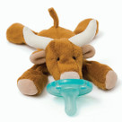 Long Horn Bull WubbaNub Plush Pacifier
