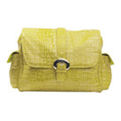 Kalencom Crocodile Buckle Diaper Bag