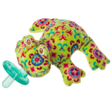 Kiwi Frog WubbaNub Pacifier by Mary Meyer