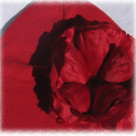 Red Rose Baby Hat