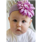 Lavender Daisy Headband