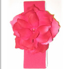 Raspberry Rose Headband