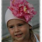 Pale Pink Peony Toddler Hat