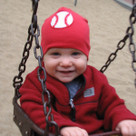 Red Baseball Boy Hat