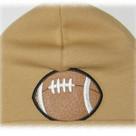 Tan Football Boy Hat