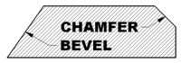 Chamfer Profile vs Bevel