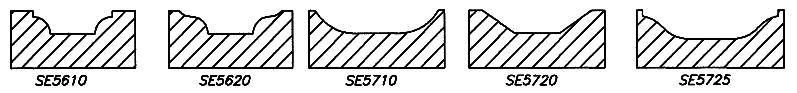 MDF Door Router Bit Profiles