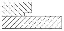 Slot and Undercut Router Bit Cutting Profile
