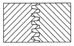 Finger Joint Router Bit Profile