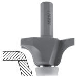Roman Ogee Router Bit for Undermount Solid Surface Bowls