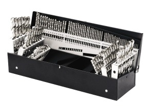 Triumph Twist Drill 115 Pc Set - Fractional, Wire and Letter Sizes
