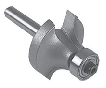 """Roundover Router Bits (2 Flute) - 1/4"""" Shank, Carbide Tipped - Southeast Tool"""
