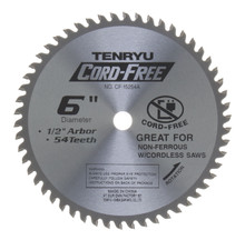 Tenryu CF-15254A - Alumi-Cut, cord free Series Saw Blade
