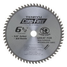 Tenryu CF-16560A - Alumi-Cut cordless Series Saw Blade