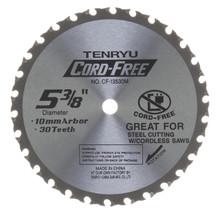 Tenryu CF-13530M - Cord Free Series Saw Blade for Mild Steel