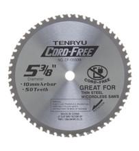 Tenryu CF-13550M - Cord Free Series Saw Blade for Mild Steel