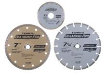 "Diamond Pro Saw Blade, 3-3/8"" Dia, 15mm Arbor, Ten - Tenryu CF-085D"