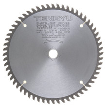 "Tenryu PC-18560CB - Plastic Cutter Series Saw Blade, 7 1/4"" dia x 60T"