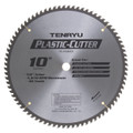 "Tenryu PC-25580CB - Plastic Cutter Series Saw Blade, 10"" dia x 80T"