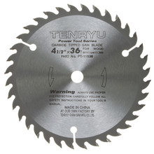 Tenryu PT-11536 - Power Tool Series Saw Blade for Table/Portable Saw