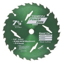 Tenryu PT-18524P - Power Tool Series Saw Blade for Table/Portable Saw