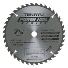 Tenryu PT-18540-T - Power Tool Series Saw Blade for Table/Portable Saw