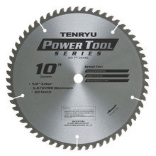 Tenryu PT-25560 - Power Tool Series Saw Blade for Miter/Slide Miter Saw