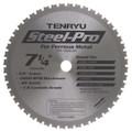 "Steel-Pro Saw Blade, 7-1/4"" Dia, 48T, 0.079"" Kerf, 5/8""KO Arbor, Tenryu PRF-18548BW"