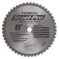 "Steel-Pro Saw Blade, 8"" Dia, 48T, 0.087"" Kerf, 5/8"" Arbor, Tenryu PRF-20348CBN"