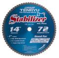 "Steel-Pro Stabilizer Saw Blade, 14"" Dia, 72T, 0.098"" Kerf, 1"" Arbor, Tenryu PRF-35572DK"
