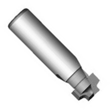 Whiteside 3910 - Model Train, Track Router Bits, Track Single Groove Bit, Carbide Tipped
